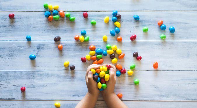 Gusto por los dulces en niños