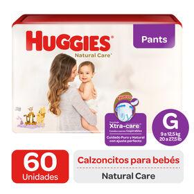 Pant Huggies Natural Care Xtra Care G x60 Un