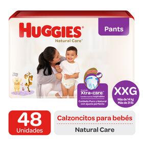 Pant Huggies Natural Care Xtra care XXG x48 Un