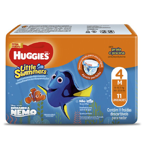 Huggies Little Swimmers 11 Un - Talla M