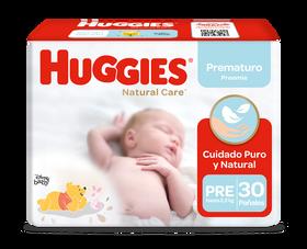 Pañales Huggies Natural Care Prematuro 30 un.