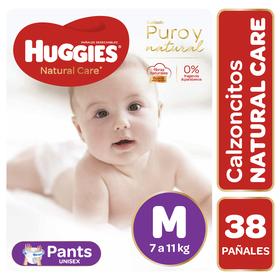 Pants Huggies Natural Care Unisex (1 paq. x 38 un) Talla M