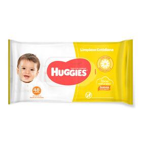 Toallitas Húmedas Huggies Limpieza Cotidiana 30 Paq x 48 Un