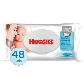 Toallitas Húmedas Huggies Puro&Natural 1x48
