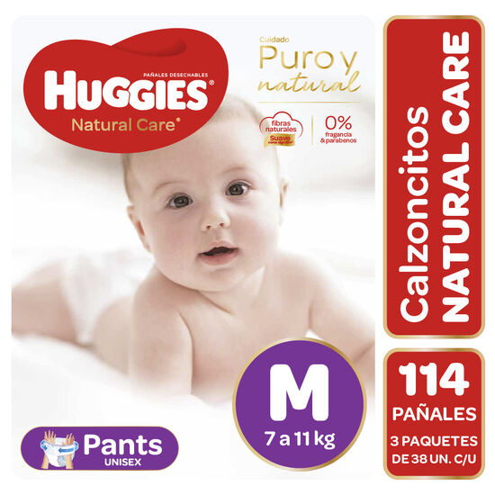 Pants Huggies Natural Care x3 Packs