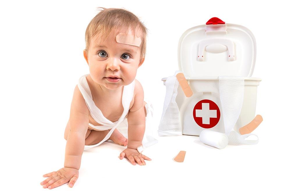 Urgencias y primeros auxilios con niños pequeños